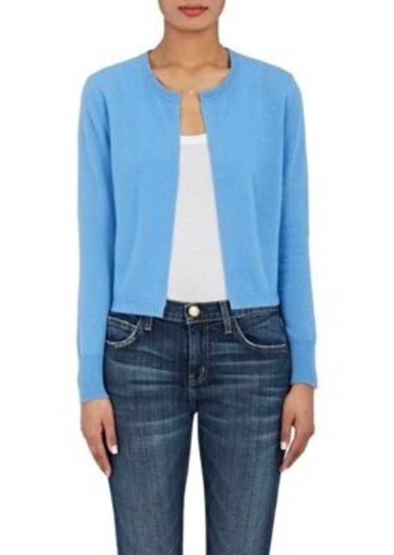 140fd4a5cd Barneys New York Barneys New York Women s Cashmere Cropped Cardigan ...