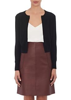 Barneys New York Women's Cashmere Cropped Cardigan