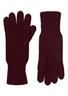 Barneys New York Women's Cashmere Gloves - Wine