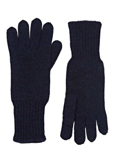 Barneys New York Women's Cashmere Gloves - Navy