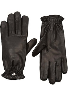 Barneys New York Women's Cashmere-Lined Leather Gloves