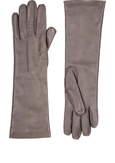 Barneys New York Women's Cashmere-Lined Long Gloves