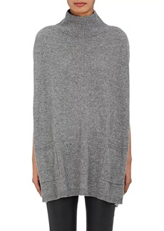 Barneys New York Women's Cashmere Mock Turtleneck Poncho