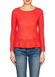 Barneys New York Women's Cashmere Peplum Sweater