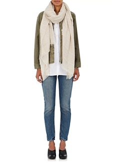 Barneys New York Women's Cashmere Scarf - Cream