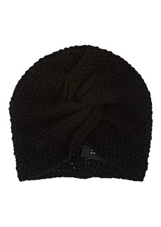 Barneys New York Women's Cashmere-Silk Turban Cap - Black
