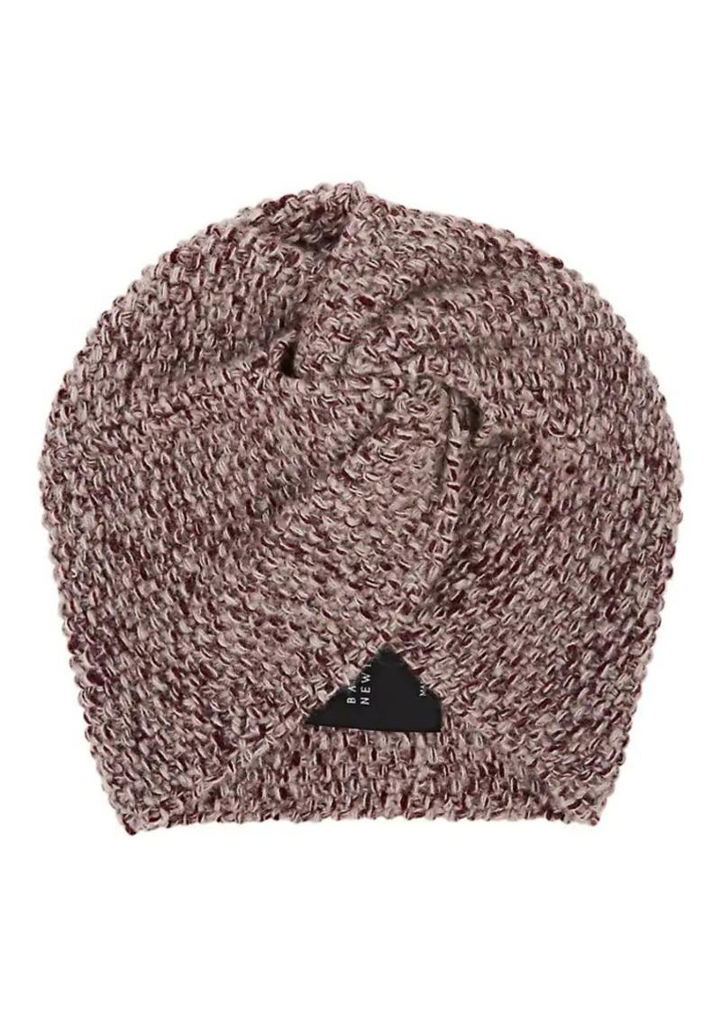 Barneys New York Women's Cashmere-Silk Turban Cap - Wine