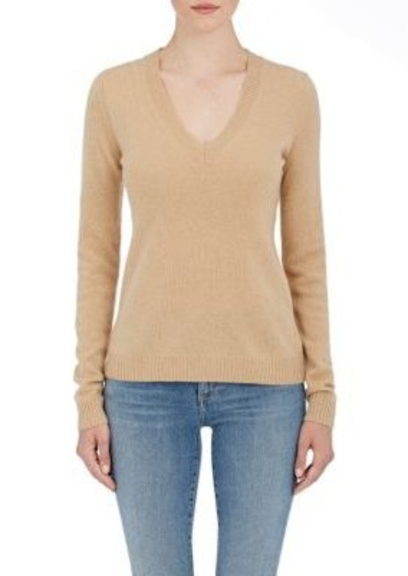 Barneys New York Barneys New York Women's Cashmere V-Neck Sweater ...
