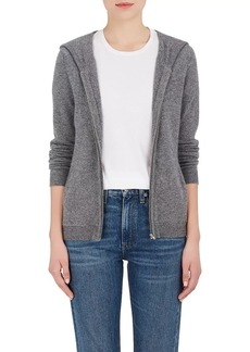 Barneys New York Women's Cashmere Zip-Front Hoodie