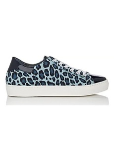 Barneys New York Women's Cheetah-Print Suede Sneakers