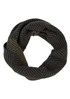 Barneys New York Women's Chevron-Pattern Wool-Cashmere Twisted Snood