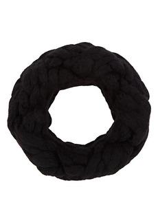 Barneys New York Women's Chunky Braided Cowl Scarf - Black