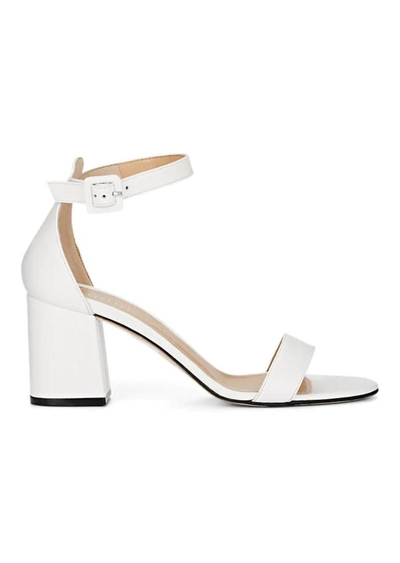 Barneys New York Women's Chunky-Heel Leather Sandals