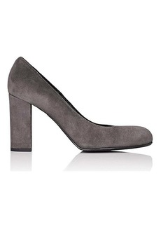 Barneys New York Women's Chunky-Heel Suede Pumps