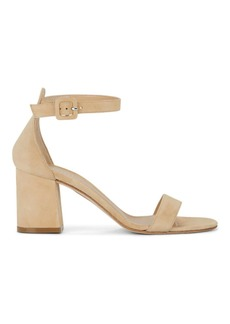 Barneys New York Women's Chunky-Heel Suede Sandals