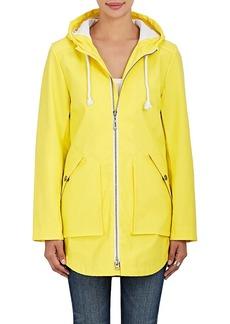 Barneys New York Women's Coated Zip-Front Raincoat
