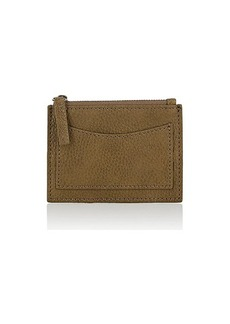 Barneys New York Women's Coin-Purse Card Case - Green