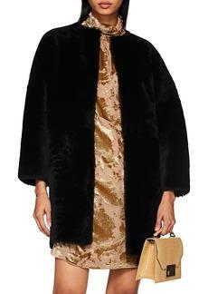 Barneys New York Women's Collarless Fur Jacket
