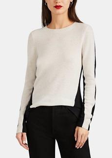 Barneys New York Women's Colorblocked Cashmere Sweater
