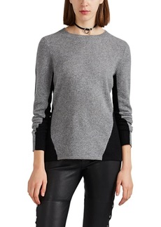 Barneys New York Women's Colorblocked Cashmere Sweater
