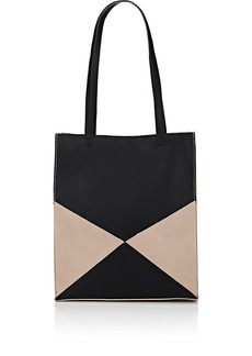 Barneys New York Women's Colorblocked Tote Bag - Black