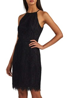 Barneys New York Women's Corded-Lace Halter Dress