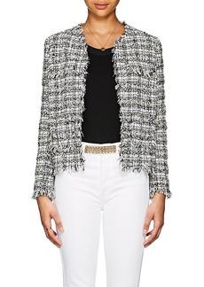 Barneys New York Women's Cotton-Blend Tweed Jacket