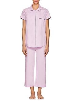 Barneys New York Women's Cotton Crop Pajama Set