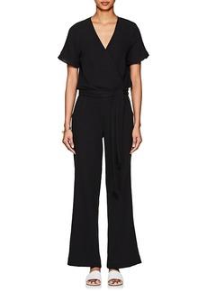 Barneys New York Women's Cotton Gauze Belted Jumpsuit