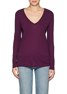 Barneys New York Women's Cotton Long-Sleeve T-Shirt