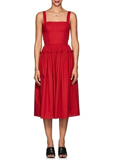 Barneys New York Women's Cotton Poplin Bustier Dress
