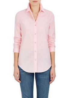 Barneys New York Women's Cotton Poplin Button-Down Blouse