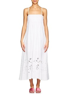 Barneys New York Women's Cotton Poplin Maxi Dress