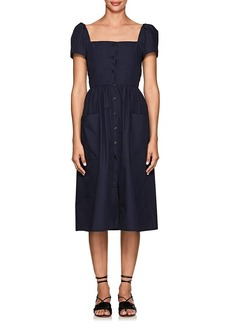 Barneys New York Women's Cotton Poplin Midi-Dress