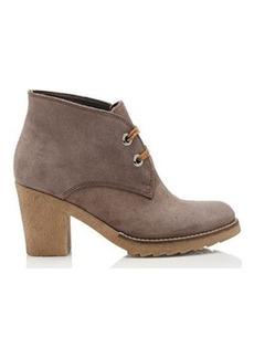Barneys New York Women's Crepe-Sole Desert Boots