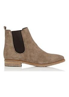 Barneys New York Women's Crepe-Sole Suede Chelsea Boots