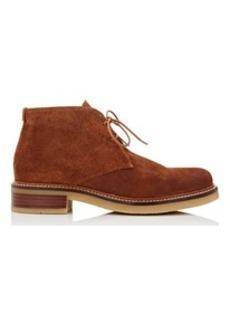 Barneys New York Women's Crepe-Sole Suede Desert Boots