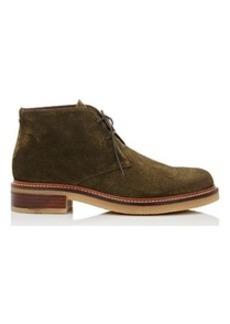 Barneys New York Women's Crepe-Sole Suede Desert Boots