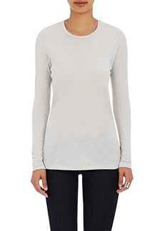 Barneys New York Women's Crewneck Long-Sleeve T-Shirt