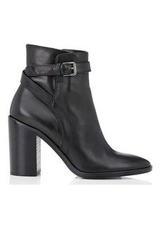 Barneys New York Women's Crisscross-Strap Leather Ankle Boots