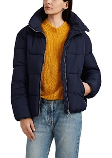 Barneys New York Women's Crop Puffer Jacket