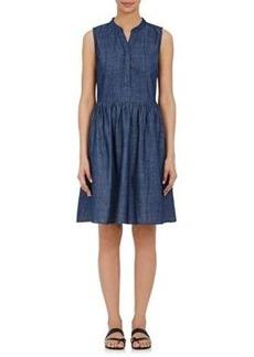 Barneys New York Women's Denim Sleeveless Dress