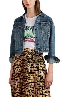 Barneys New York Women's Distressed Denim Jacket