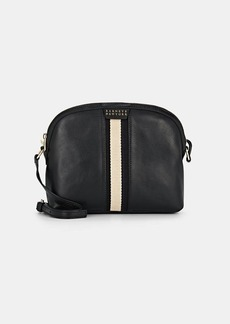 Barneys New York Women's Dome Leather Crossbody Bag - Black