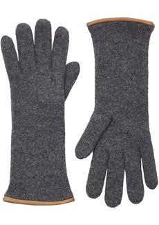 Barneys New York Women's Double-Knit Gloves