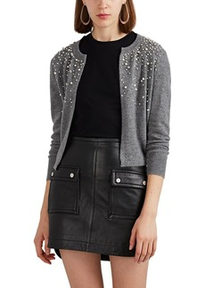 Barneys New York Women's Embellished Cashmere Cardigan