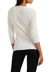 Barneys New York Women's Embellished Cashmere Sweater