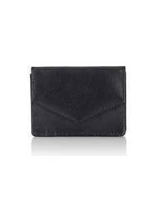 Barneys New York Women's Envelope Card Case - Black