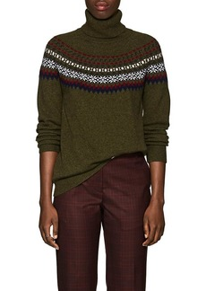 Barneys New York Women's Fair Isle Cashmere Sweater