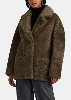 Barneys New York Women's Fatigue Shearling Jacket